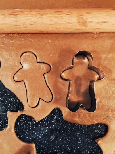 Close-up of gingerbread pastry