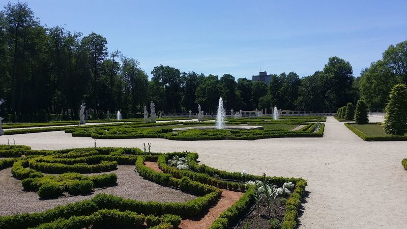 Bialystok BIAŁYSTOK CITY Day Formal Garden Nature No People Ornamental Garden Outdoors Sky Tree
