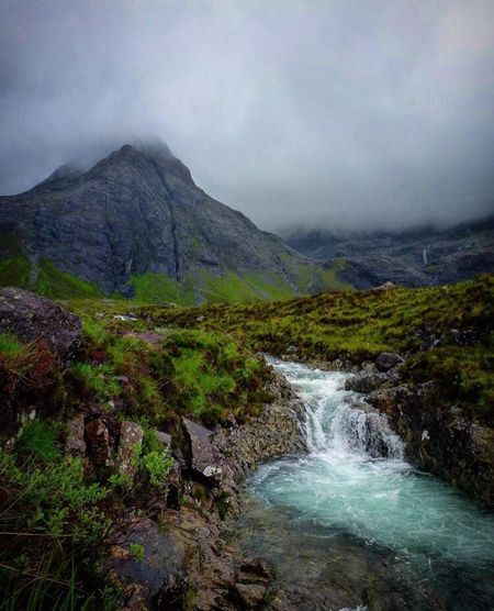 Scenics Mountain Beauty In Nature Tranquil Scene Outdoors Landscape Water Waterfall Tranquility Scotland Fairypools Nature Been There. Been There.