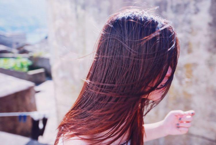Human Hair Rear
