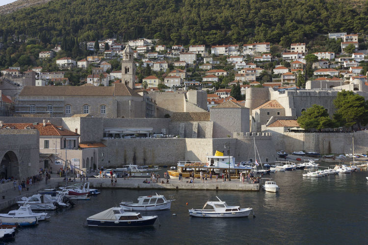 Dubrovnik Dubrovnik, Croatia Croatia Outdoors Fortified Wall Harbour Cityscape Architecture Building Exterior Built Structure Nautical Vessel Transportation City Water Mode Of Transportation Building Residential District Day Waterfront Crowd Sea Nature Town House Community TOWNSCAPE Sailboat Yacht