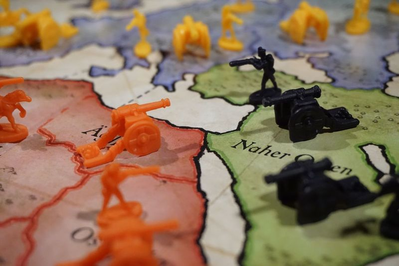 War?! EyeEm Selects Art And Craft Close-up Indoors  Creativity No People Selective Focus Representation High Angle View Still Life Map Paint Multi Colored Text Full Frame Backgrounds Western Script Paper Black Color Craft Human Representation