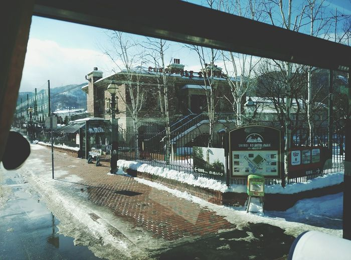Travel Hokaido Exploring Beautiful Scenery Road,snow,white Style