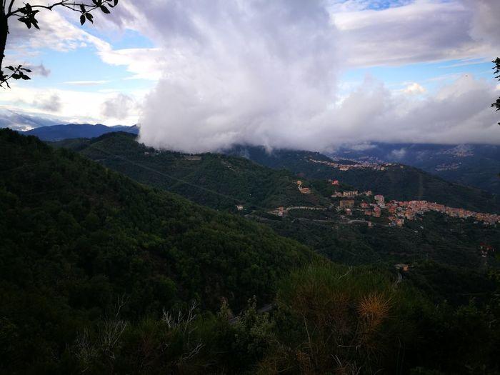 Cloud - Sky Mountain Sky Mountain Range Landscape Forest