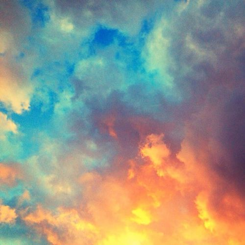Clouds And Sky Sunset Impossible Moments Lookingup