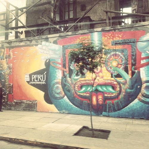Igersperu Streetart Lima Av .abancay