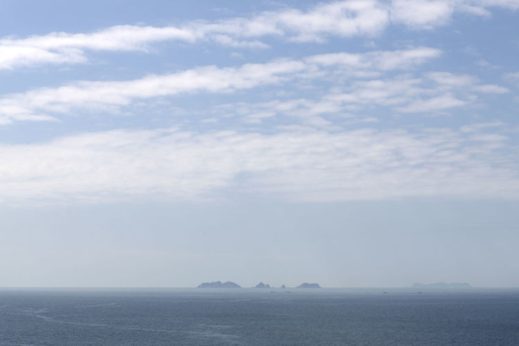 seaside view of Somaemuldo Island in the sea of Tongyeong, Gyeongnam, South Korea. Taken with Nikon d850 Nature's Beauty Nikon D850 South Korea Tongyeong Tranquil Tranquility Beauty Of Nature Cloud And Sky D850 Day Horizon Over Sea Island On The Horizon No People Outdoor Outdoor Photography Outdoors Peaceful Peaceful Nature Somaemuldo Tranquil Scene Travel Destinations