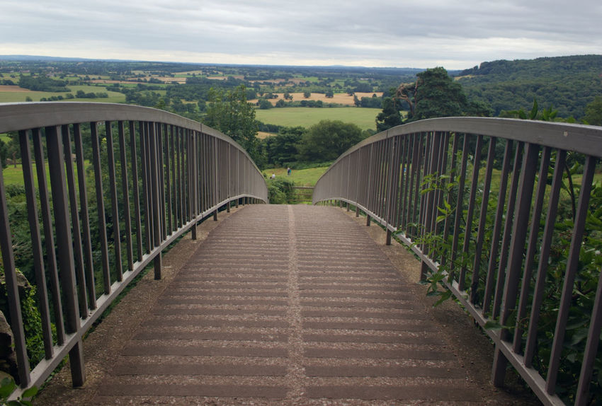 Bridge - Man Made Structure Cloud - Sky Railing Outdoors Connection Architecture The Way Forward Sky Travel Destinations Summer Built Structure Day Horizon Scenics No People English Countryside Nature