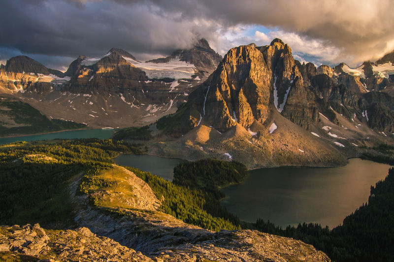 Mount Assiniboine Sunset Adventure Alberta Assiniboine Park Camping Canada Explore Hiking Lake Lake View Landscape Magog Mount Assiniboine Mountain Mountains Nature Outdoors Rocky Mountains Wanderlust