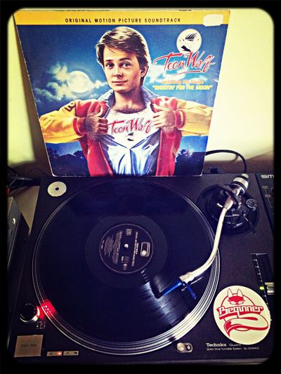 Vinyl Teen Wolf Listen To Music My Vinyl Collection
