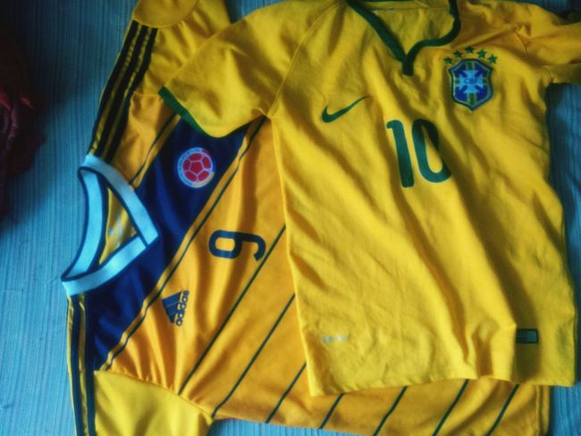 Taking Photos Copa America Brasil Colombia Today :) Hello World Soccer⚽