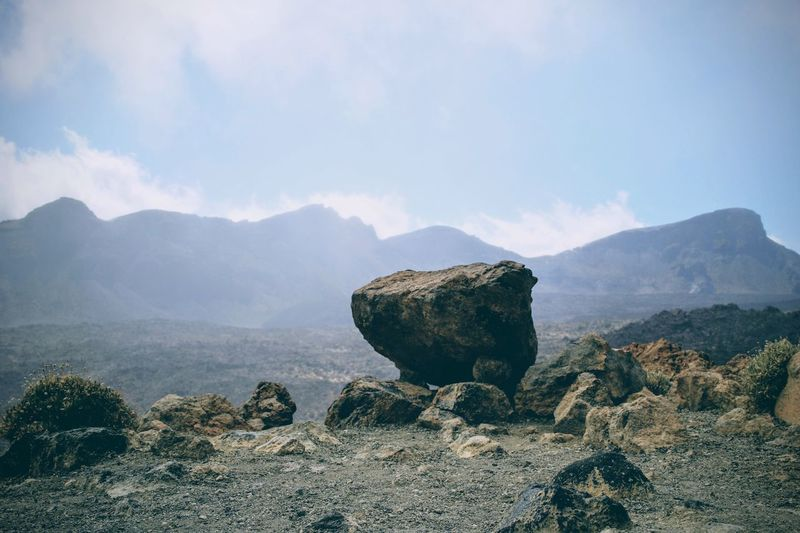 Rock - Object Mountain Sky Tranquil Scene Tranquility Nature Mountain Range Geology Physical Geography Beauty In Nature Scenics Outdoors Day No People