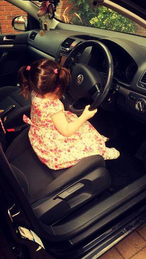 Beep beep 🚗💨💨 Golf Toddler  Driving