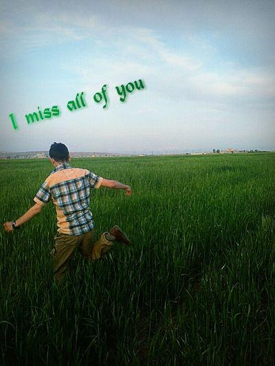 I Miss You I Am Back! Helo World That's Me