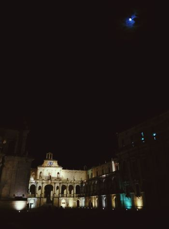 Piazza Duomo + Luna Lecce Lecce By Night Lecce - Italia Lecce City LOVES_LECCE Igerslecce Piazza Duomo Luna Moon Night