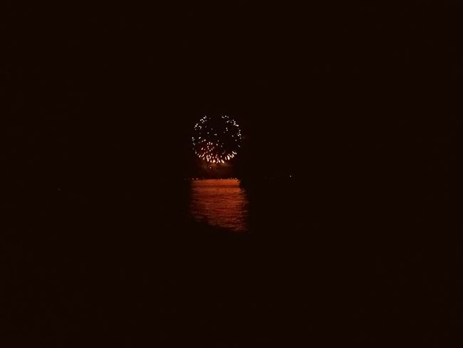 Minimalism Minimalobsession Minimalist Black Space Black Firework Fireworks In The Sky At The Lake Lake View Enjoying The View Wideangle Reflection Nightphotography Seenachtsfest Summertime
