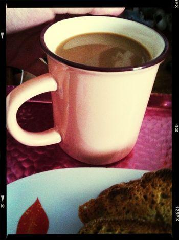 Estrenando taza chachi piruli ^^
