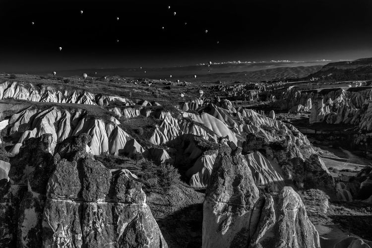 Rock formations at cappadocia