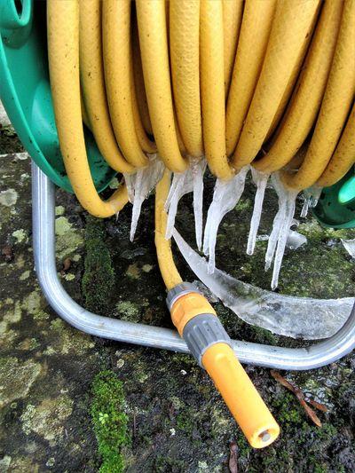 Frozen hosepipe
