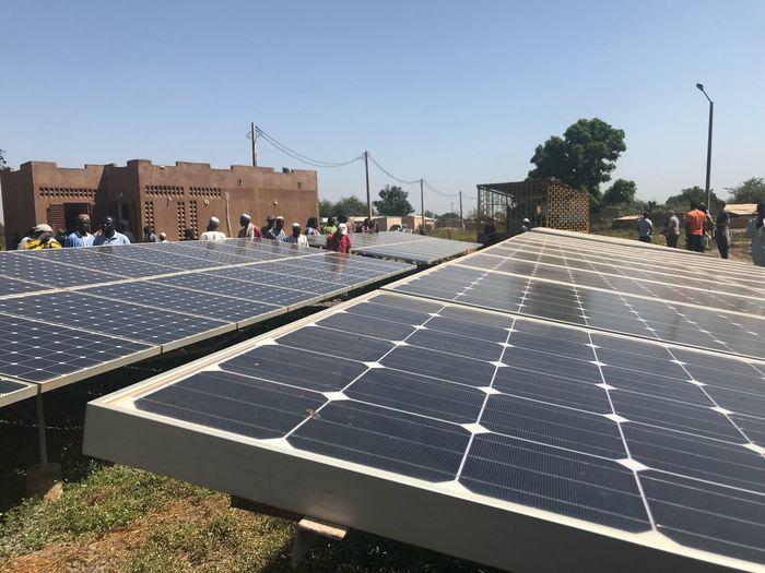Solar, battery