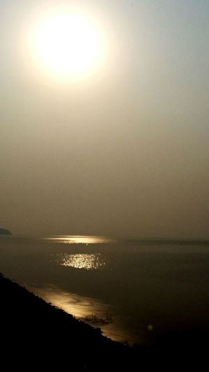 Sunset_collection Water Reflections at Hirakud Dam Nature and Purity !!