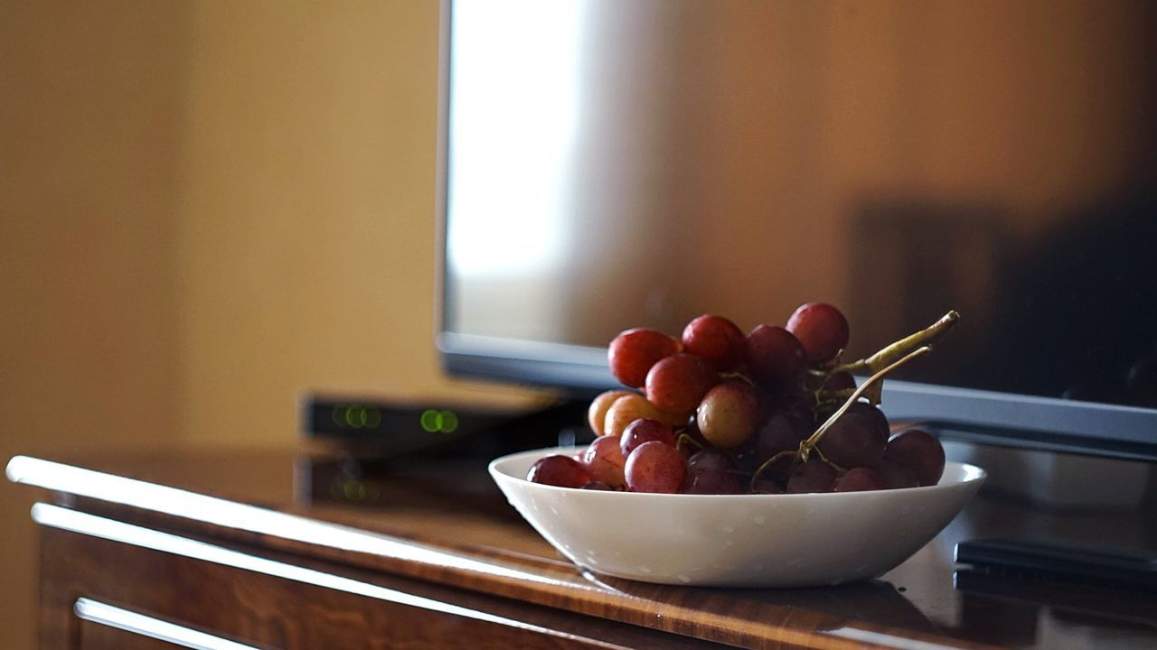 indoors, bowl, healthy eating, food and drink, focus on foreground, table, no people, food, fruit, close-up, home interior, freshness, day, ready-to-eat