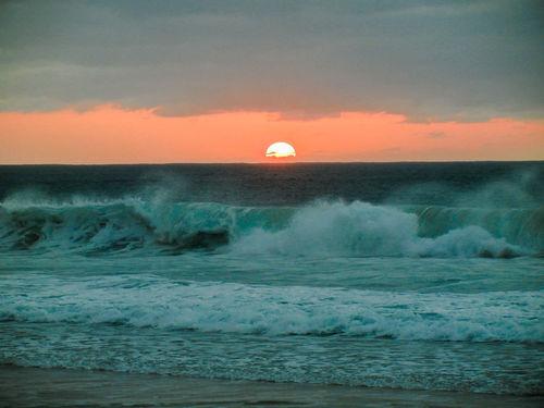 Fuerteventura Sonnenuntergang Nature Sunset Sonnenuntergang Strand Beach El Cotillo Canoma Photography Nikon S8100 Nikon Sunset