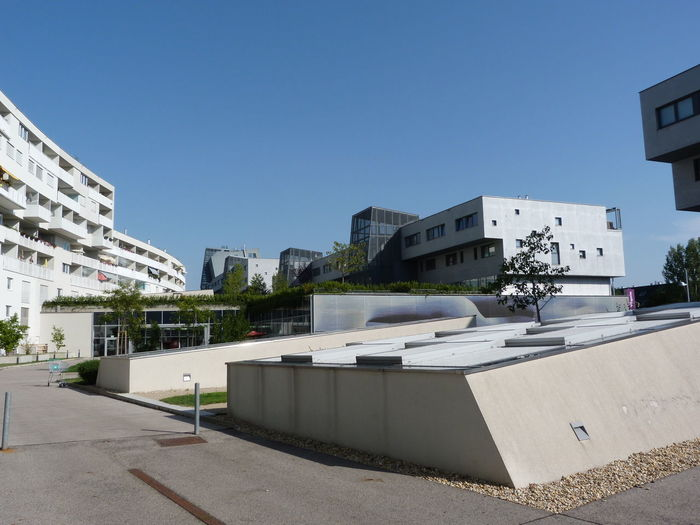 Architecture City Liesing Riverside Architektur No People Residential Building Sommer Summer Wohnpark