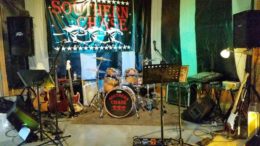Band Setup Southern Chase