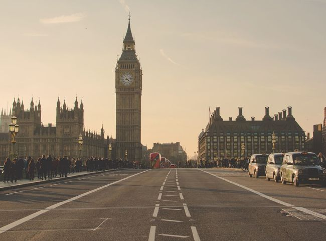 EyeEm Selects Travel Destinations Clock Tower Architecture History Outdoors Politics And Government King - Royal Person Sunset Large Group Of People City Sky Clock People Day Clock Face Big Ben Westminster EyeEm LOST IN London
