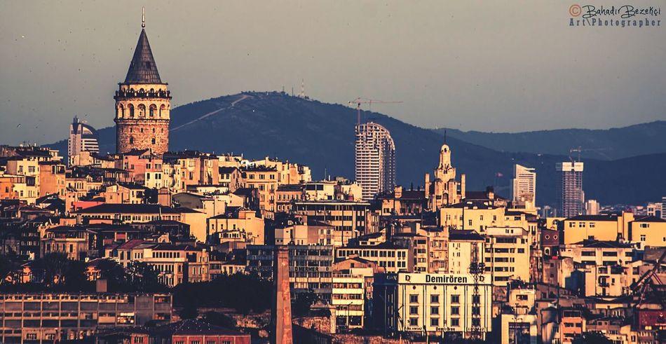Molla aşkı terasından Galata kulesi... Istanbullovers Galata Kulesi Landscape Turkey