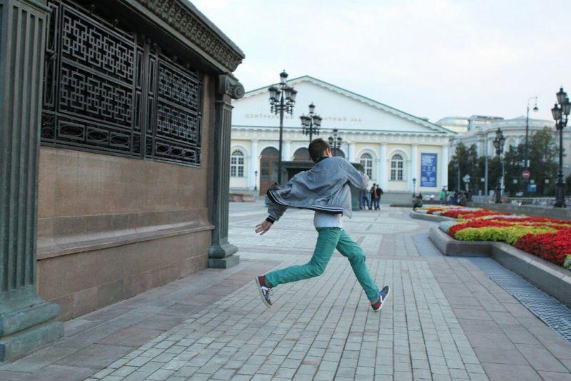 TakeOff Run Freedom Moscow