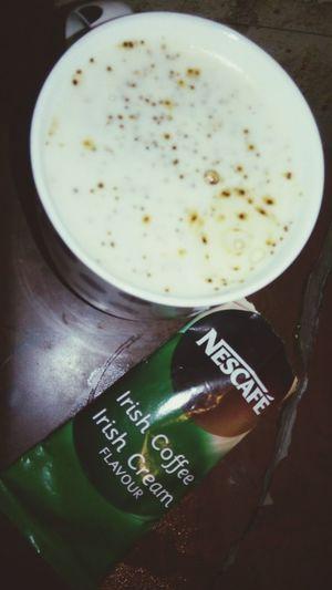 Irish coffee,