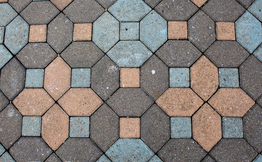 Full frame shot of footpath