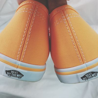 Vans Shoes ♥ Orange