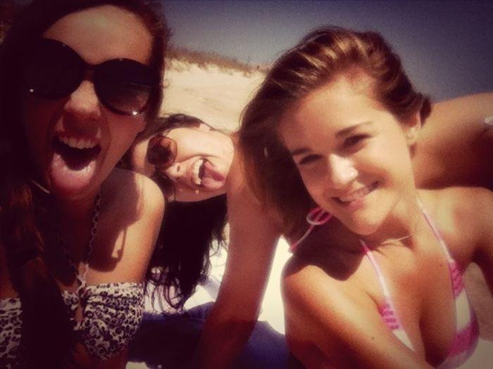 Girls Enjoying The Sun Beach Babes We So Fine