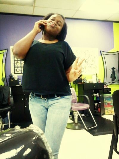 My sister being ratchet lmbo!