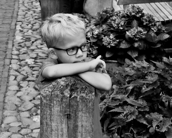 My precious grandson in the old fishermanstown of Elburg Nikonphotograhy Happy Life Blessed Boyhood Promiseforever Nextgen Grandson Growing Up Too Fast Childhood Innocence Enjoying Life Thinking About Litle Boy Day Outdoors Blond Hair Flower Sitting Eyeglasses  Children Only Child Portrait People