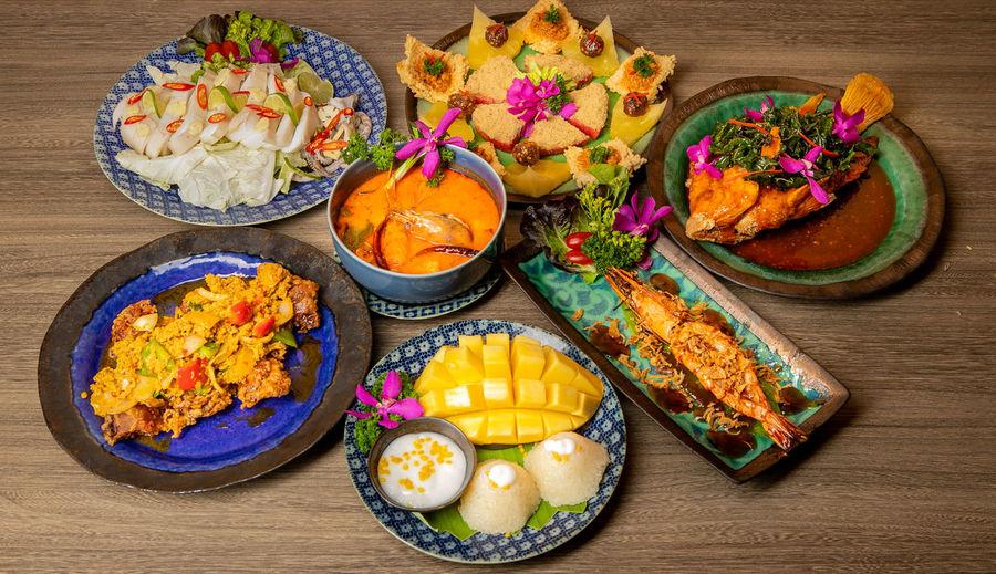 Thai food on