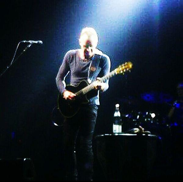 Throwback Sting Played Guitar . Music Musician Music Concert Jakarta Indonesia Enjoying The Show! Taking Photos