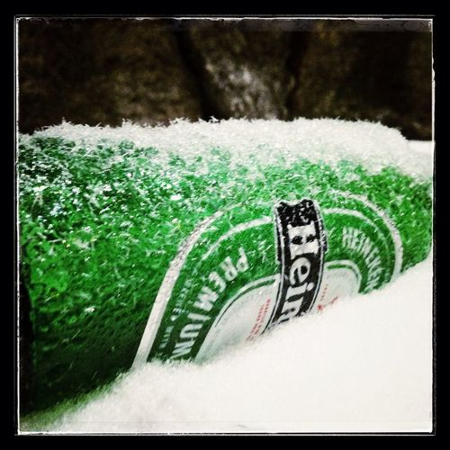 Frozen Beerbottle