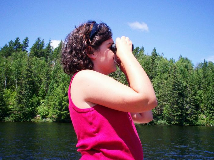 what is she looking at?... Canada Coast To Coast Nature On Your Doorstep Faces Of Summer Summer Views Learn & Shoot: Layering Protecting Where We Play Live To Learn What I Value Learn & Shoot: Single Light Source Photos That Will Restore Your Faith In Humanity Blue Wave Natural Light Portrait Colour Of Life People And Places Enjoy The New Normal Uniqueness Miles Away Northern Ontario Women Around The World Long Goodbye Live For The Story Place Of Heart Let's Go. Together. Breathing Space Be. Ready. Perspectives On People EyeEm Ready   An Eye For Travel Summer Exploratorium A New Beginning