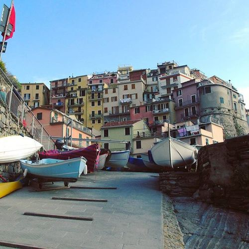 Cinqueterre Italy Boats Beutifulplace Travel Traveler Traveling