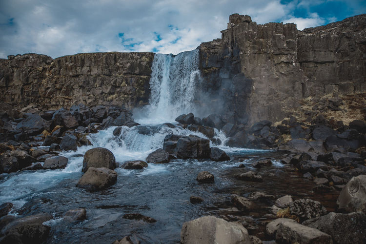 Öxarárfoss in Iceland Iceland Исландия Waterfall Nature Travel Family Travels