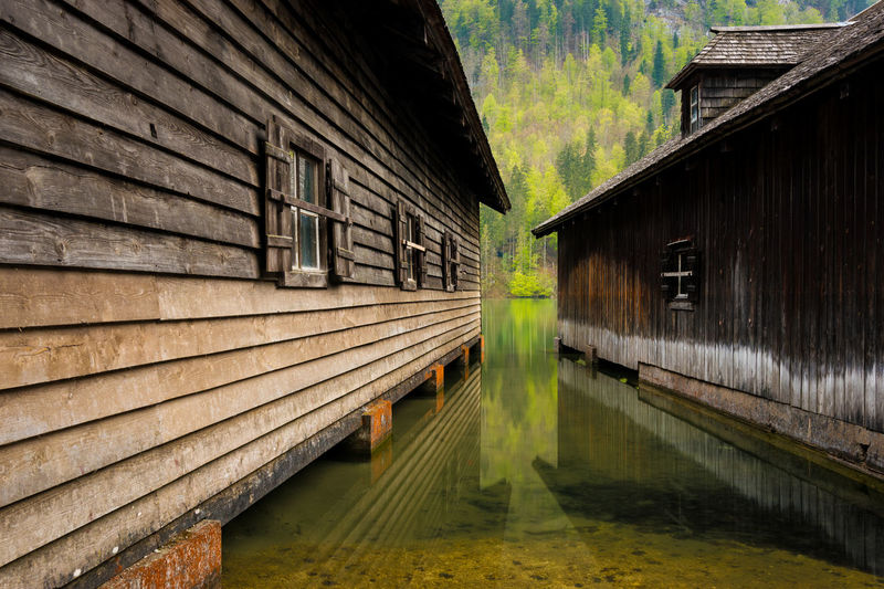 Koenigssee Idyll Alps Architecture Bavaria Bayern Berchtesgaden Berchtesgadener Land  Boat House Destination Europe Framehouse Germany Königssee Lake Landscape Malerwinkel Nature Oberbayern Outdoors Reflections Reflexions Scenery Schönau Am Königsee Timber Cottage Travel Wooden House