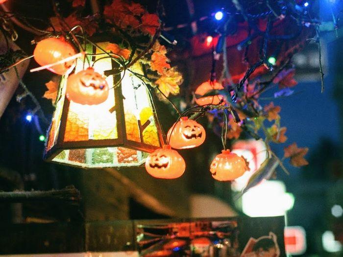 Hanging Illuminated Night Close-up No People Goldengai Kabukicho Shinjuku Tokyo,Japan Filmphotography Nikon Fm2 Nikkor50mm1.4 Fujicolor400 3XPSUnity