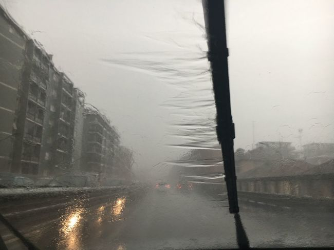 The Journey Is The Destination Rain Rainy Days Storm Milano Driving Water The Drive