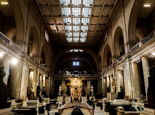 Indoors  Arch Architecture Religion Place Of Worship Architectural Column Built Structure Pew No People Altar Day Egypt Cairo Egyptphotography Egyptdailylife Egyptian Museum Egyptian Art Egyptian Statue Egyptian Lover Egyptdairies Egyptian Mummy Egyptbyme