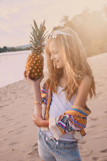 Beach Love Model Modeling Photo Photography Pineapple Pose Summer
