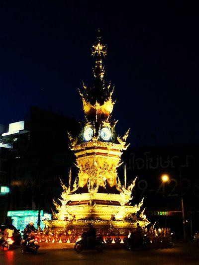 Clock Tower Art ArtWork Steet Art Chiang Rai